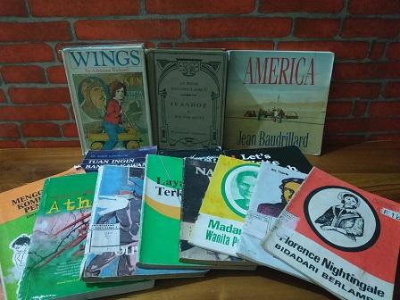 Berburu Buku Lawas di Pasar Buku dan Seni Velodrome